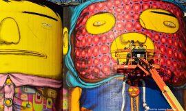 Arte gigante en silos