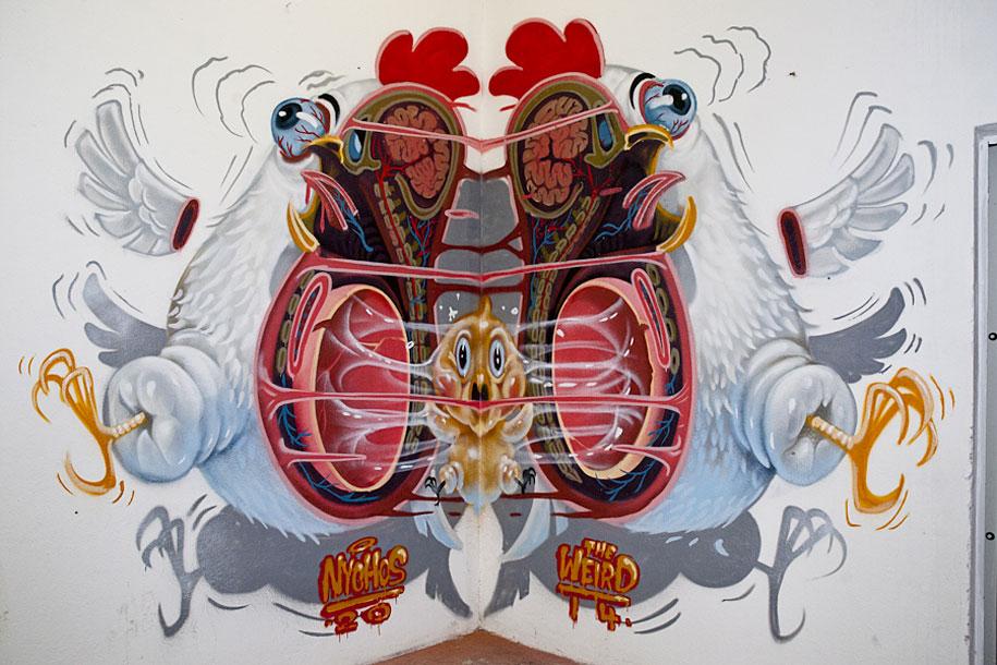 cartoon-character-animal-dissection-street-art-nychos-3