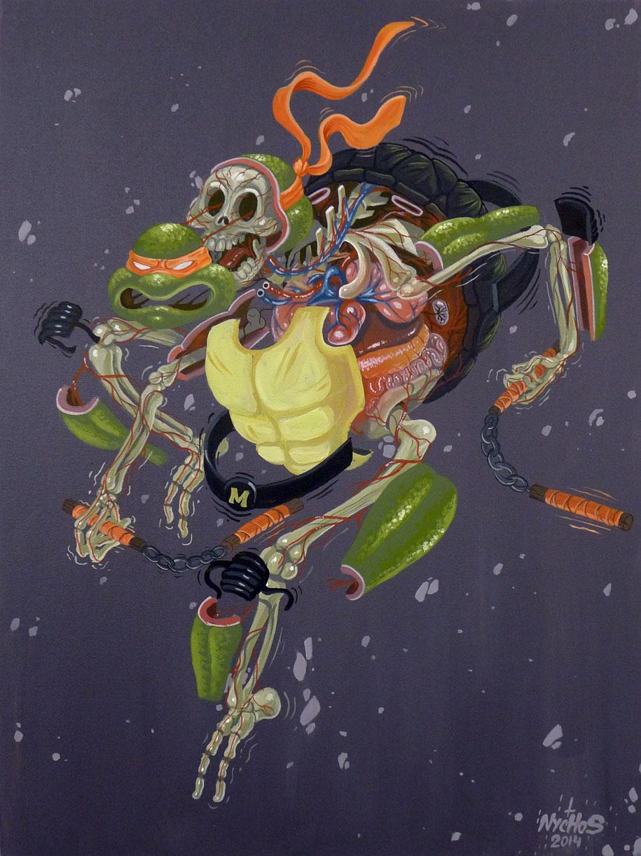 cartoon-character-animal-dissection-street-art-nychos-5