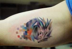 Tatuajes pixelados
