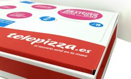 Telepizza con diseños de Ms. Barrons!!