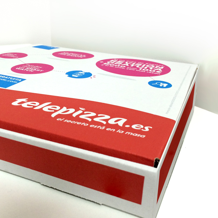 En este momento estás viendo Telepizza con diseños de Ms. Barrons!!
