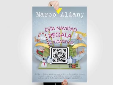 Campaña de Navidad Marco Aldany