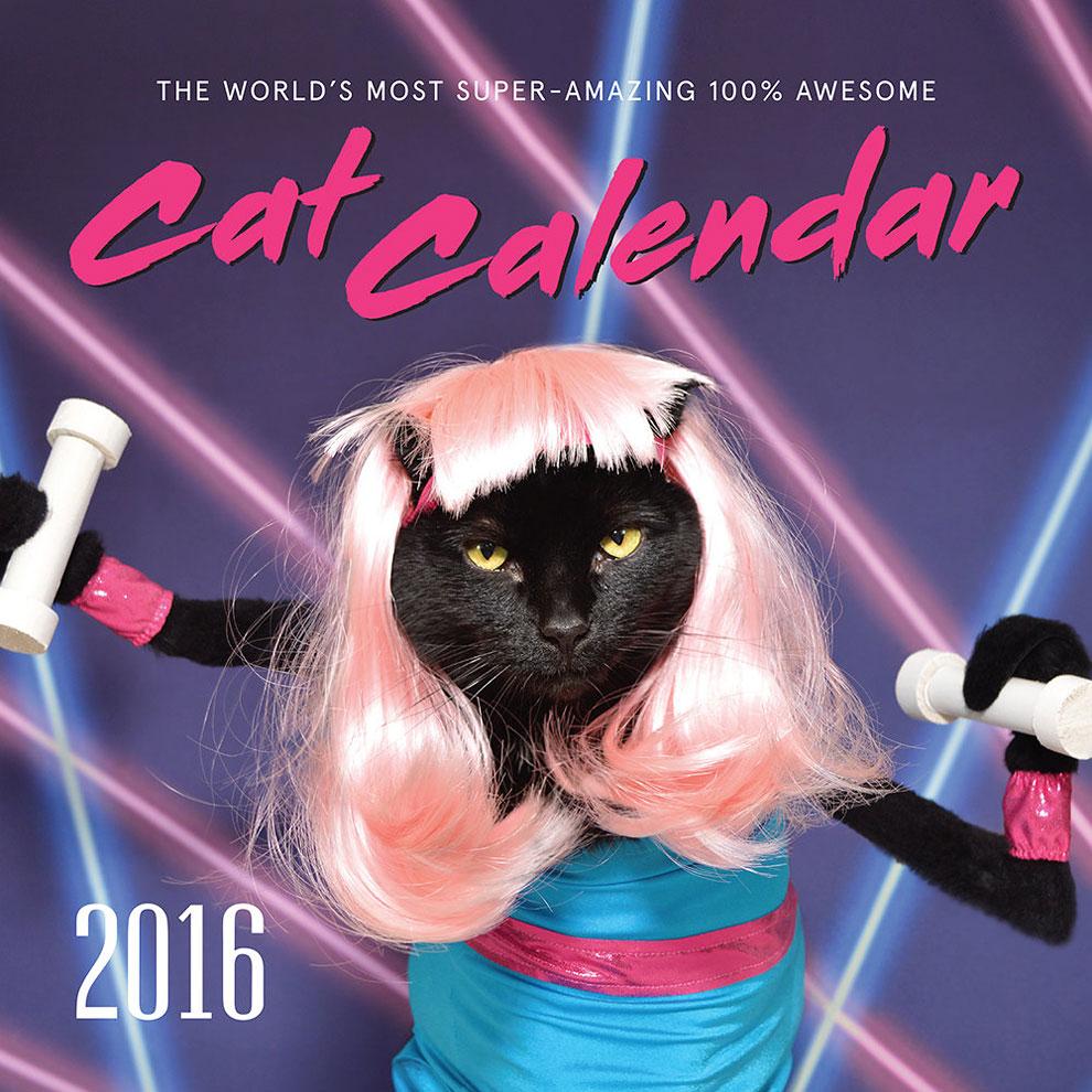 El más super-increible 100% sorprendente gatocalendario del mundo!