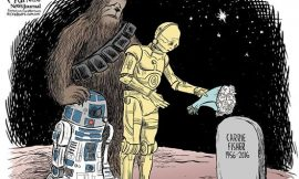 Adios a Carrie Fisher