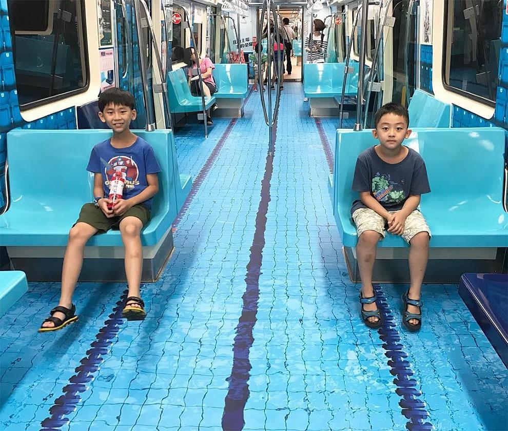 Los trampantojos de la ciudad de Taipei