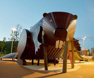 Los innovadores diseños de MONSTRUM que aparecen en parques infantiles alrededor del mundo