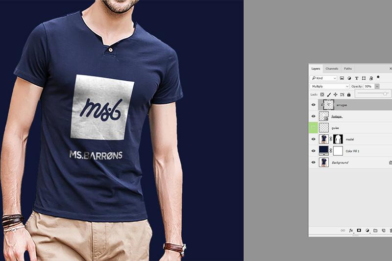 Crea tu propio Mockup de camiseta